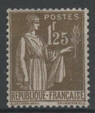 """FRANCE STAMP TIMBRE YVERT N° 287 """" TYPE PAIX 1F25 OLIVE """" NEUF xx LUXE A443"""