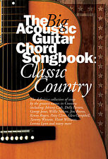 The Big Acoustic Guitar Chord Songbook Classic Country Music Book JOHHNY CASH