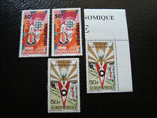 REPUBLIQUE CENTRAFRICAINE - timbre - yt aerien n° 34 42 x2 n** (A3) stamp