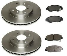 For Honda Accord L4 2.3L Front Brake Kit OEM Advics Pads & OEM Brembo Rotors