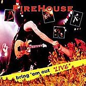 Firehouse : Bring 'Em Out Live Heavy Metal 1 Disc CD