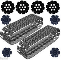 Lego  50 Tread Links + 8 Sprockets (technic,mindstorms,nxt,robot,tracks,ev3,car)