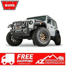 WARN Crawler Stubby Front Bumper with Grille Guard for 07-20 Jeep Wrangler JK JL