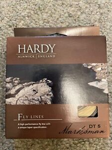Hardy Marksman DT5F fly line. New in box.