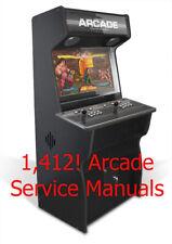 1,412 Manuali di Servizio Arcade-PDF Collection