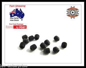 Illegal Racing BSD Redcat TP Racing Grub Screw M3x 6mm 1/8 RC car 6pcs