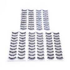 50 Pairs Wispies False Eyelashes Handmade Natural Lashes Pack