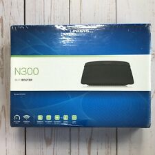NEW LINKSYS Model E1200 N300 Wireless Router  (Sealed)