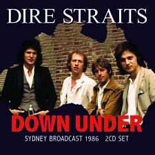 DIRE STRAITS New Sealed 2020 UNRELEASED LIVE 1986 SYDNEY CONCERT 2 CD SET