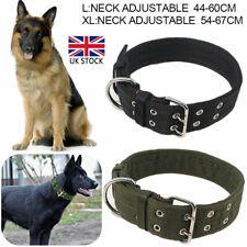 Heavy Duty Large Dog Collar Neck Buckl Large Breed Nylon Collars Adjustable L/XL