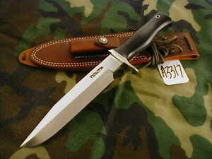 "RANDALL KNIFE KNIVES #14-7 1/2"",SS,TN,NSSHSQ,BLACK MICARTA,BPH,WT  #A3317"