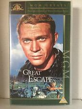 The Great Escape Steve McQueen & VHS Video