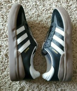adidas Mens Sz 7 UK 6.5 Black Cloud White Gum Busenitz Vulc RX Skate Shoes