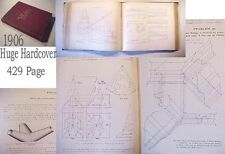 1906 n.METAL Work'r PATTERN BK:TOOL SHEET cutting roofing roof mold molding pipe