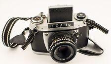 Exa 1a SLR Camera With Meyer-Optik Görlitz Domiplan 50mm f2.8 Lens