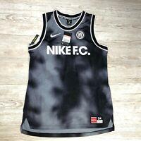 NIKE F.C. DRI-FIT TANK TOP FOOTBALL VEST Size L LARGE AQ1545 010