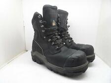 "Dunlop Men's DLNA16101 Composite Toe Composite Plate 8"" WP Safety Boot Black 12M"