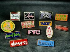 More details for vintage 90's music enamel pin badge official pick 'n' mix -  retro bands artists