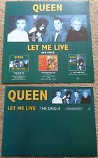 Queen - Let Me Live display flats