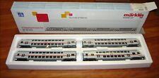 Märklin 43476, 4 tlg. IC Doppelstockwagen-Set, Epoche 6, H0, NEU&OVP