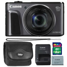 Canon PowerShot SX720 HS 20.3MP Built-in Wifi / NFC 40X Zoom Digital Black + Kit