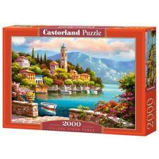 Castorland Village Clock Tower Jigsaw Puzzle (2000 Piece) - 2000 C2006962 Pieces