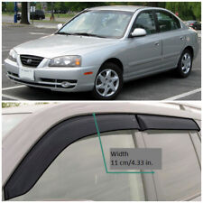 HE20200 Window Visors Vent Wide Deflectors For Hyundai Elantra Sd 2000-2006