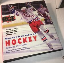 1999 100 Years Of HOCKEY HC DJ Book NHL Strachan Facts 400+ Photos History Howe