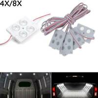 4/8 x 4LED light kit interior van loading bay for commercial vehicles rear cab