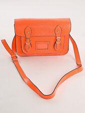 Design by LYDC Fashion Messenger Bag Shoulder Bag CROSS-OVER ORANGE 520O