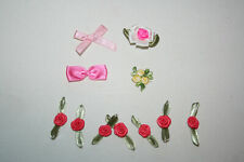 Doll Clothing Lingerie Making Repair Sewing Applique Embroidery Flowers