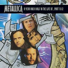 METALLICA A YEAR AND A HALF IN THE LIFE OF PART 1 & 2 DVD REGION 1 NTSC NEW