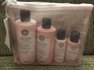 Maria Nila Luminous Colour Extra Value  (Shampoo and Conditioner Beauty Bag) New