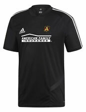 adidas Atlanta United FC Short Sleeve Training Jersey-Black/White-M