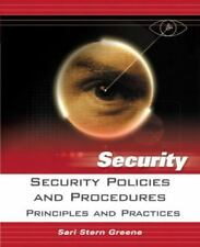 Security Policies and Procedures: Principles and Practices (Prentice Hall