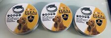 Lovatic Flea and Tick Collar for Dog 8 Months Protection New Allergy Free 3pc~A3