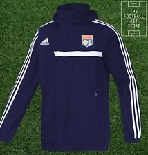 Lyon All Weather Jacket - adidas Football Training Waterproof - Mens All Sizes