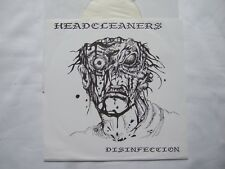 """HEADCLEANERS disinfection 7"""" EP 1990 reissue 1000db HUVUDVÄTT mob47 crude ss"""