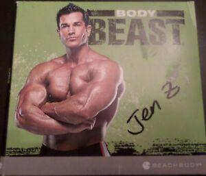 BeachBody BODY BEAST Home Fitness 4 DVD Workout Strength Set Total Body