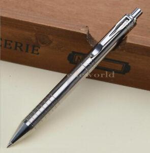 EDC Titanium TC4 Pocket Ballpoint Pen Portable Outdoor Tactical Pen