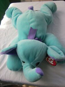 Ty Pillow Pals Squirt the Elephant 1998 Retired