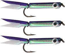 Silver Minnow Lure purple 3 Stück 4,5cm Forellenköder, Angelköder für Forelle 1g