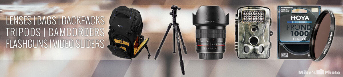 Mike's Photo Gear