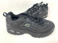 NEW! Skechers Men's ENERGY AFTER BURN Lace Up Shoes Black #50081 200QR tz