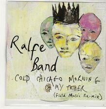 (FJ623) Ralfe Band, Cold Chicago Morning - 2013 DJ CD