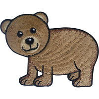 Bear Patch Iron Sew On Clothes T Shirt Jacket Denim Embroidered Badge Applique