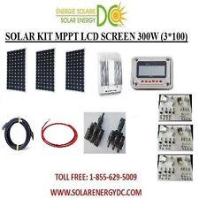 Solar Panel KIT Panneau Solaire 300W 300 W Watt 3 * 100 W MPPT mono 12V brackets