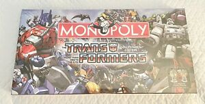2007 Hasbro Transformers Monopoly Collector's Edition New Sealed, Please Read