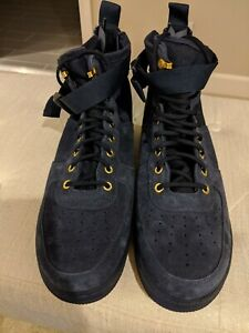 Nike SF Air Force 1 Mid Obsidian Dark Navy Special Forces 917753-400 Sz 11.5
