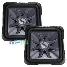 """(2) 2011 KICKER® 11-S15L7-4 15"""" Solo-Baric L7 SUBWOOFERS SUBS D4 11S15L74 *PAIR*"""